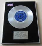 HARRY SECOMBE - THIS IS MY SONG PLATINUM Single Presentation Disc